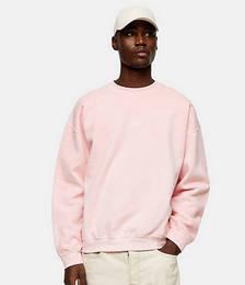 London Print Sweat in Pink