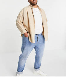 Organic Cotton Big Stretch Jeans in Light Wash