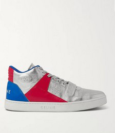 CT-02 Leather High-Top Sneakers
