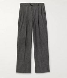 Striped Wool Skate Pants