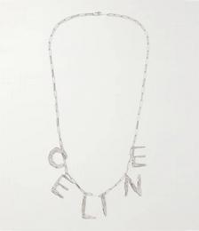Silver-Tone Necklace