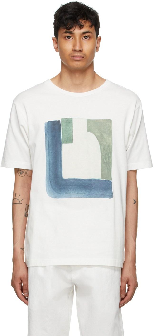 White Piscine T-Shirt