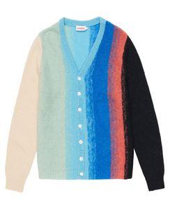 Homefront Ombré-knit Cardigan