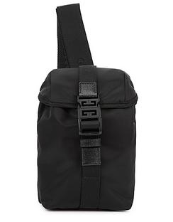 4G Mini Black Nylon Cross-body Bag