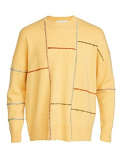 Patchwork Darning Sweater