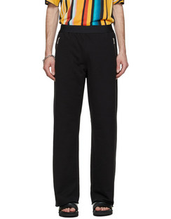 Black Relaxed Lounge Pants