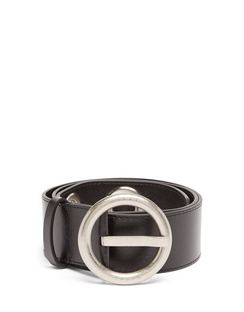 Eyelet Leather Belt