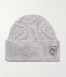 Logo-Appliquéd Wool, Yak and Cashmere-Blend Beanie