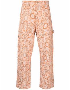 1991 Carpenter Paisley-print Trousers