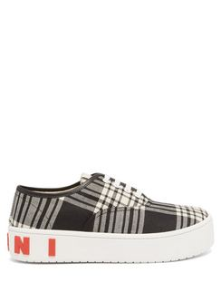 Check Canvas Trainers