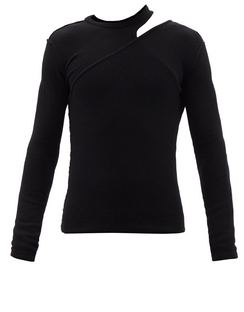 Ziggy Asymmetrical-slit Cashmere-blend Sweater