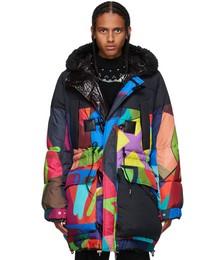 Multicolor KAWS Edition Parka Jacket