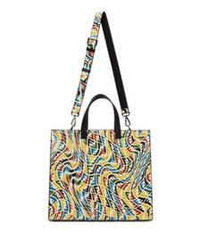 Multicolor FF Vertigo Shopper Tote