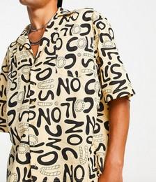Typo Print Shirt