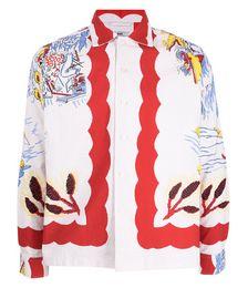 Graphic-print Long-sleeve Shirt