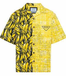 Double Match Boxy-fit Shirt