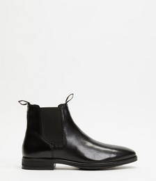 Carson Leather Gusset Boots