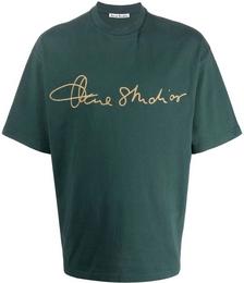 Signature Logo-print Crew Neck T-shirt