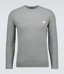 Kalon Face Wool Crewneck Sweater