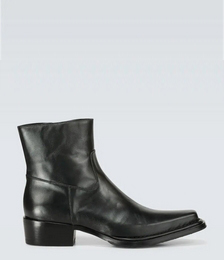 Bruno Leather Cowboy Boots