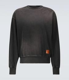 Fiah Spray Face Cotton-jersey Sweatshirt