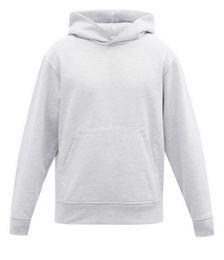 Logo-tab Cotton-blend Hooded Sweatshirt