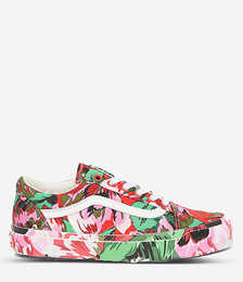 Vans x Kenzo Old Skool Graphic-print Canvas and Leather Trainers
