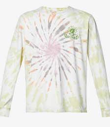 Floral Graphic-print Organic-cotton Top