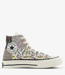All Star Hi 70 Floral-print High-top Canvas Trainers