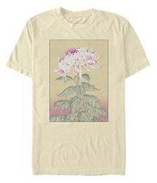 Men's Asian Blossom Short Sleeve Crew T-shirt