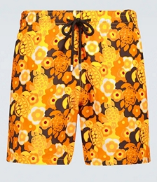 Moorea Floral Swim Shorts