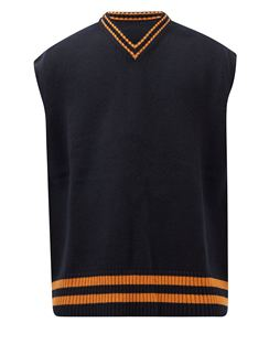 V-neck Wool Sweater Vest