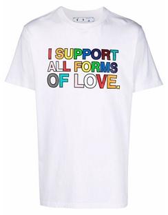 Pride T-shirt S/S White Black