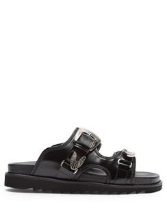 x Browns Polido Flat Sandals