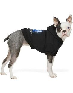 Black 2001 Dog Hoodie