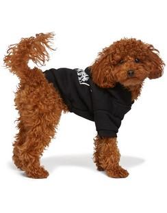 Black Goth Dog Hoodie
