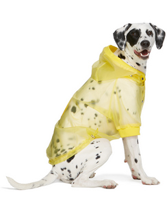 Yellow Poldo Dog Couture Edition Waterproof Coat