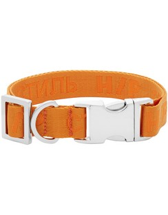 Orange VIP Edition 'Style' Dog Collar