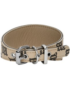 Beige Monogram Collar