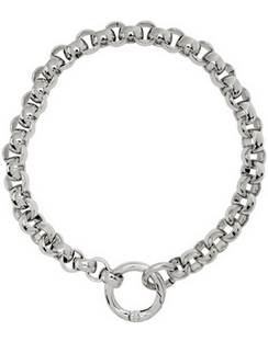SSENSE Exclusive Silver Rolo Collar
