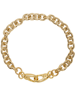 SSENSE Exclusive Gold Cable Collar