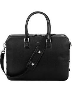 Mount Street Small Leather Laptop Bag