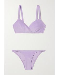 Yasmin Cotton-Blend Terry Bikini