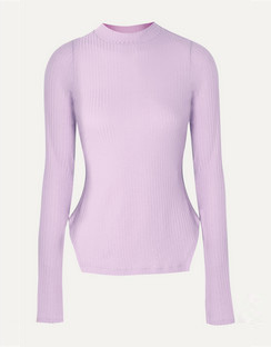 Candice Ribbed Tencel-Blend Jersey Top