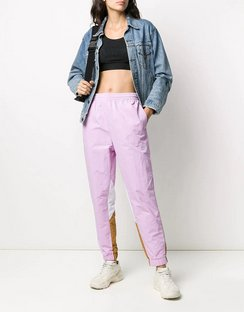 Colour-block Tapered Track Pants