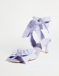 Heeled Bow Sandals
