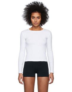 White Bellevue Long Sleeve T-Shirt