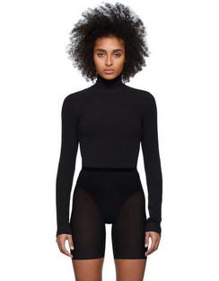 Black Charlotte Bodysuit