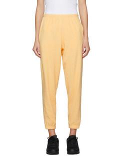 SSENSE Exclusive Yellow Terry Beachwood Lounge Pants