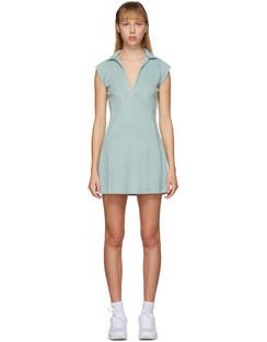 SSENSE Exclusive Blue Terry Tennis Dress